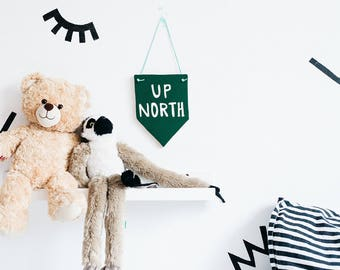Up North banner