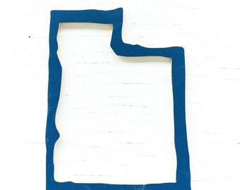 Utah state cut out