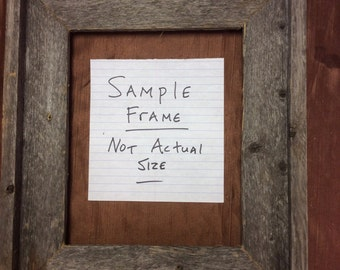 12x24 Picture Frame Etsy
