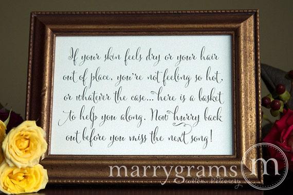 wedding bathroom basket sign wedding reception signage etsy rh etsy com