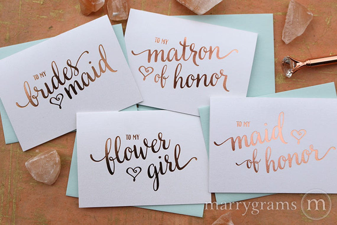 wedding vendor thank you note card set thank you for being