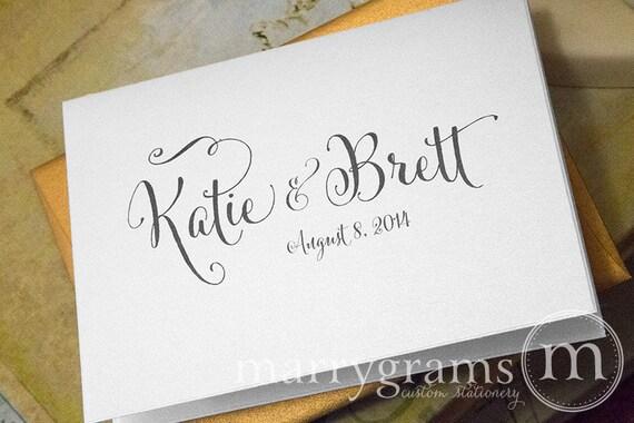 image 0 - Custom Wedding Thank You Cards