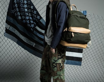 Oil-waxed Military Daypack