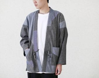 SS18 Patchwork Kimono