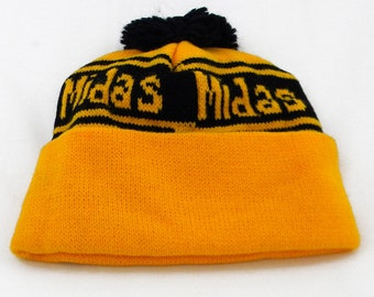 089ef082f1461 Midas Muffler Knitted Hat with Pompom