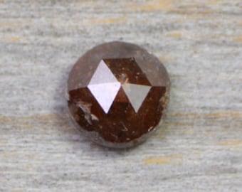 5.23mm 0.60ct Rose Cut Diamond, Loose Diamond Supply, Brown Diamond Supply, UK Diamond Supply