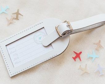 Luggage tag favor | Etsy