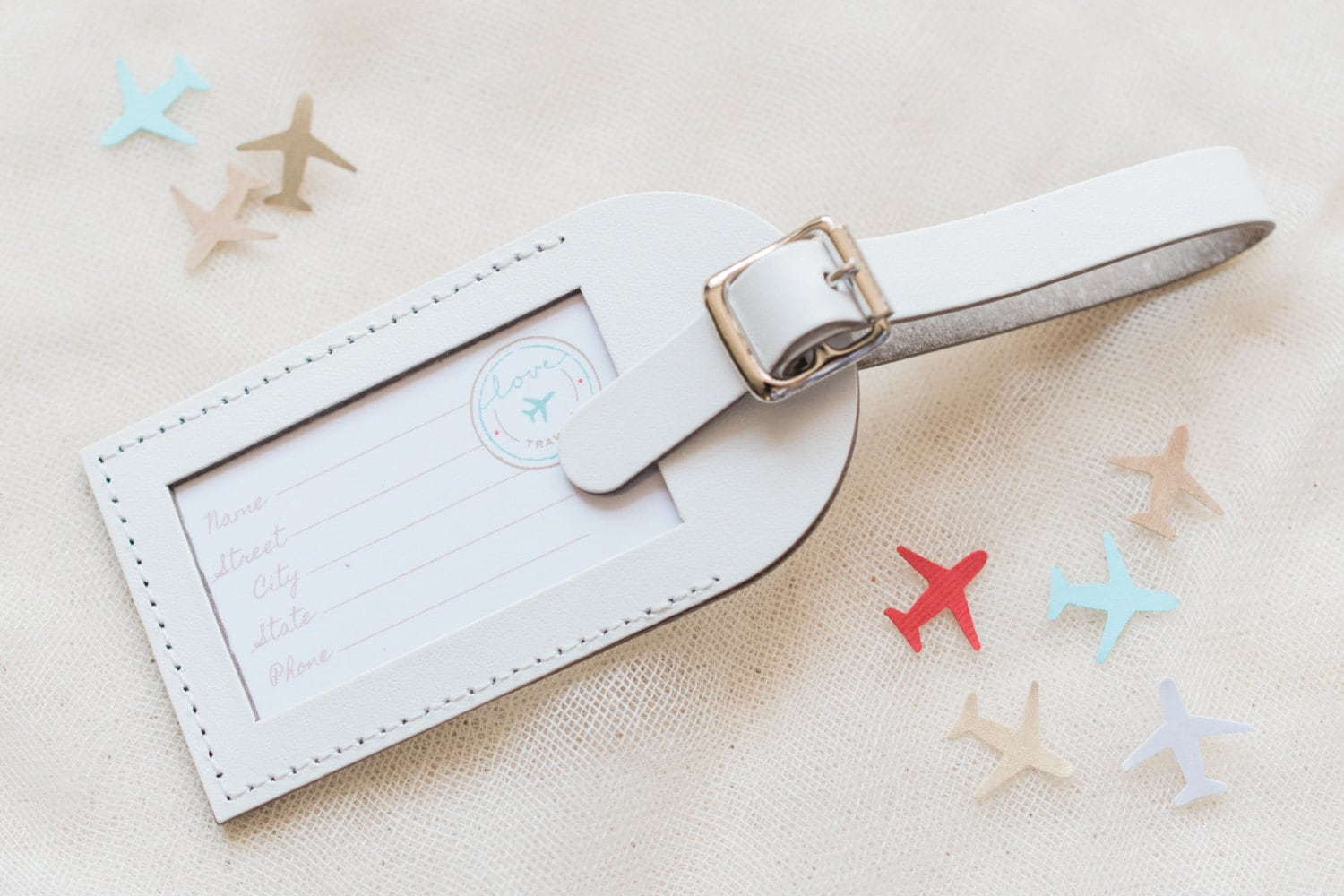 Bulk Listing White Wedding Favors Fly Away with Me Leather
