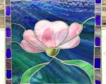 Pink Lotus Table Kitchen Mosaic