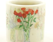 Flower Arranging - Japanese Washi Paper Tape -40mm wide - 5.5 yard