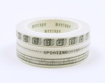 11 Yards Japanese Washi Masking Tape Mathematics