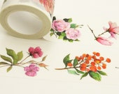Botanik - Japanese Washi Masking Tape - 30mm wide - 7.6 yard