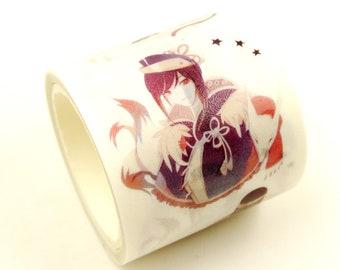 ring swimming lovers birds glass slippers diamond key 3 rolls  of limited edition Washi tape masking tapes bundle- Swan Lake tiara
