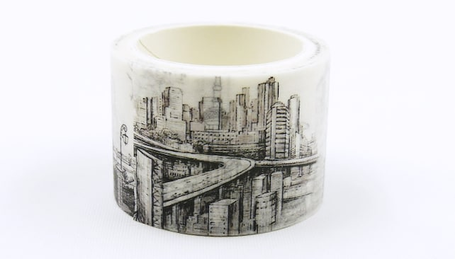 23rd century - Japanese Washi Masking Tape - 30mm Wide - 5.5 Yard