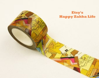 Japanese Washi Masking Tape - Abstractism - 30mm Wide - 11 Yards
