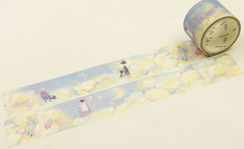 Japanese Washi Masking Tape Cloud atlas 5.5 yard 30mm wide