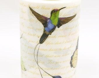 hummingbird - Japanese Washi Masking Tape - 60mm wide - 7.6 yard