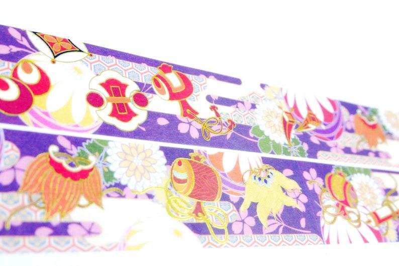 Kimono Serie 08 Japanese Washi Masking Tape 30mm wide 5.5 yard