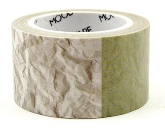 Crumpled Paper - Japanese Washi Masking Tape - 23mm wide - 5.5 yard