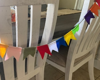 Feathers  Felt garland room decor jungle party party supplieswall decortribal wildneverland