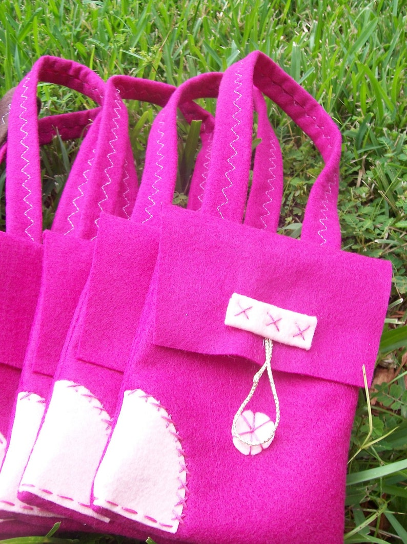 Rapunzel Party bags Set of 6 Flynn rider Satchel for girls party bags