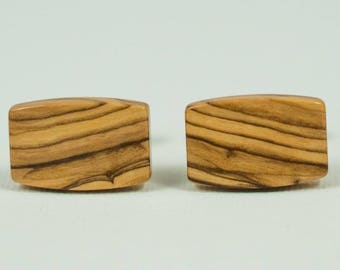 Bethlehem Olive Wood Cufflinks
