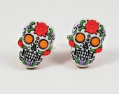 Day of the Dead Sugar Skull Cufflinks
