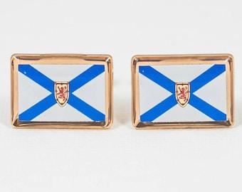 Nova Scotia Flag Cufflinks