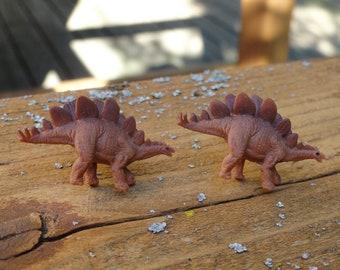Stegosaurus Dinosaur Cufflinks
