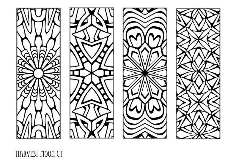 graphic regarding Printable Bookmarks to Color identify Printable Bookmarks-Printable Summary Bookmarks-Shade Your Particular Bookmarks-Coloring Web site-Instantaneous Obtain