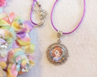 10 Princess Sophia The First Necklaces Party Favors.
