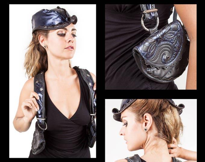 Chrysalis Leather Holster Bags   Pocket Belt   Modular   10 Ways to Wear   Utility Belt   Hip Belt   Shoulder Holster   CUSTOM MADE
