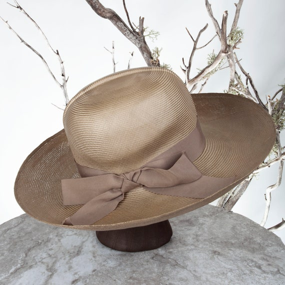 1950s MAY-D&F Vintage Straw Hat, 1950s Hat, Straw… - image 7