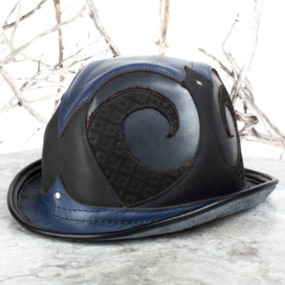 "Rapscallion Leather Bowler | 22.75"" Head 