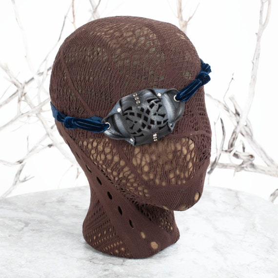 Eye Patch, Leather Eye Patch, Eyepatch, Filigree Eyepatch, Pirate Eyepatch, U Can See Whilst Wearing!, Pirate Costume, Steampunk Eyepatch
