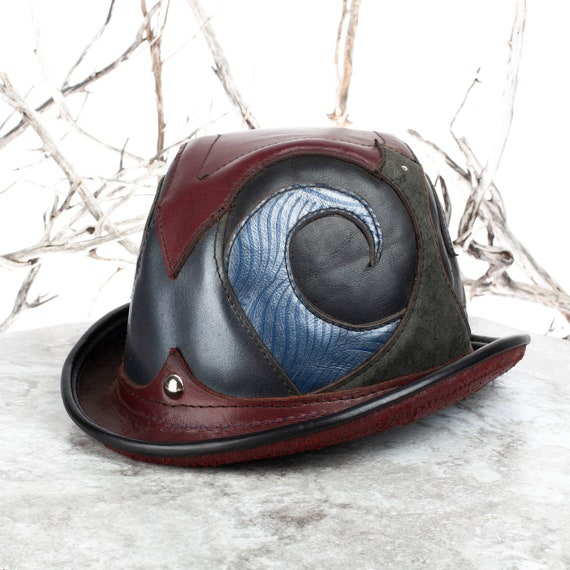 "Rapscallion Leather Bowler | 23"" Head 