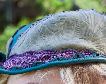 """Elven Leather Hat 