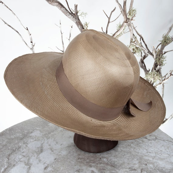1950s MAY-D&F Vintage Straw Hat, 1950s Hat, Straw… - image 4
