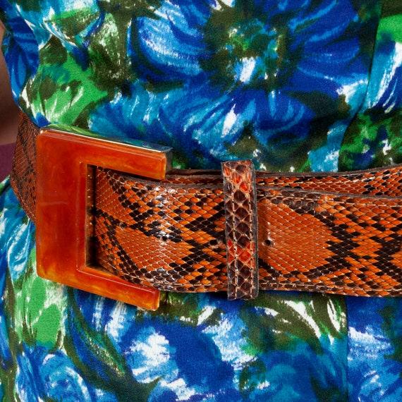 1960s, R. Spencer Designs, Vintage Leather Snakesk