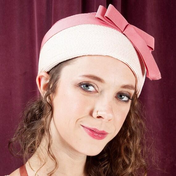 1960s, Bellini Originals, Pink Jackie O Hat, Pink