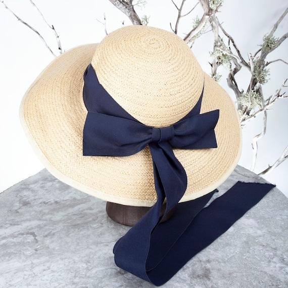 1910's Vintage Straw Hat, XS Hat, Straw Hat, Sun … - image 5