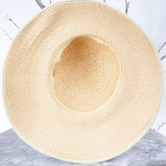 1910's Vintage Straw Hat, XS Hat, Straw Hat, Sun … - image 9
