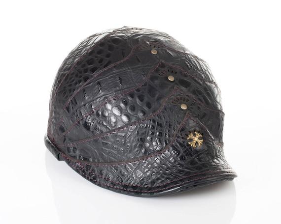 Leather Hat, Newsboy Hat, Newsie Hat, Flat Cap, Cabbie Cap, Polo Hat, Golf Hat, Polo Cap, Hats, Baker Boy Cap, Black Cap, Caps, Pageboy Hat