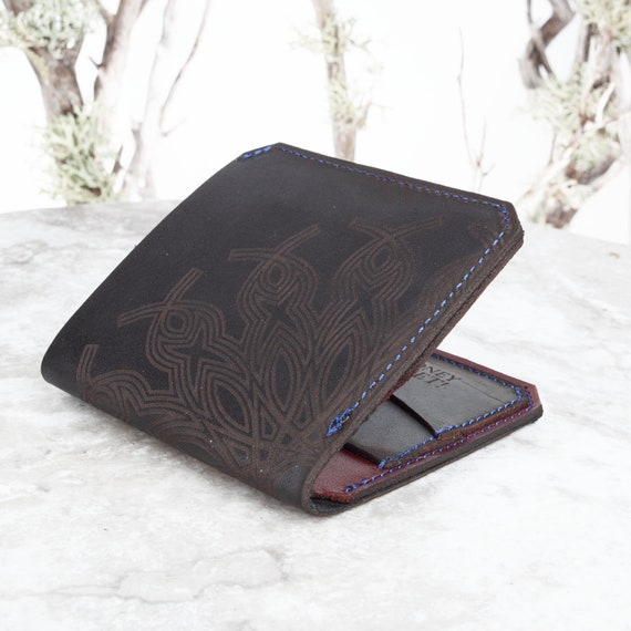 Leather Wallet, Bifold Wallet, Minimalist Wallet, Leather Card Holder, Slim Wallet, Credit Card Wallet, Card Wallet, Wallet, Engraved Wallet