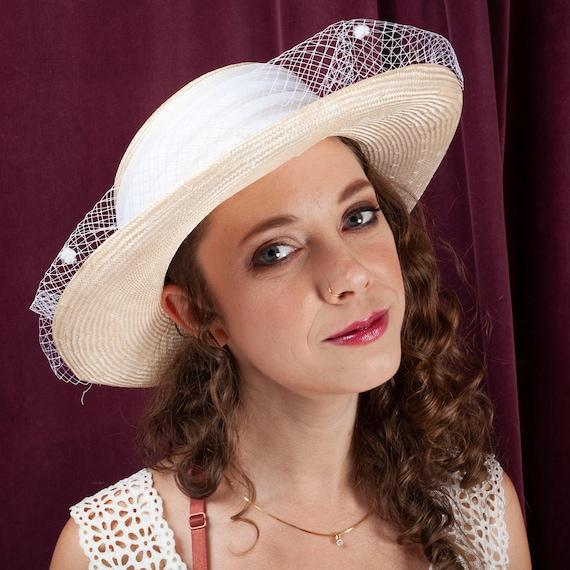 1970s, Plaza Suite Straw Hat, 1970s Hat, Straw Ha… - image 3