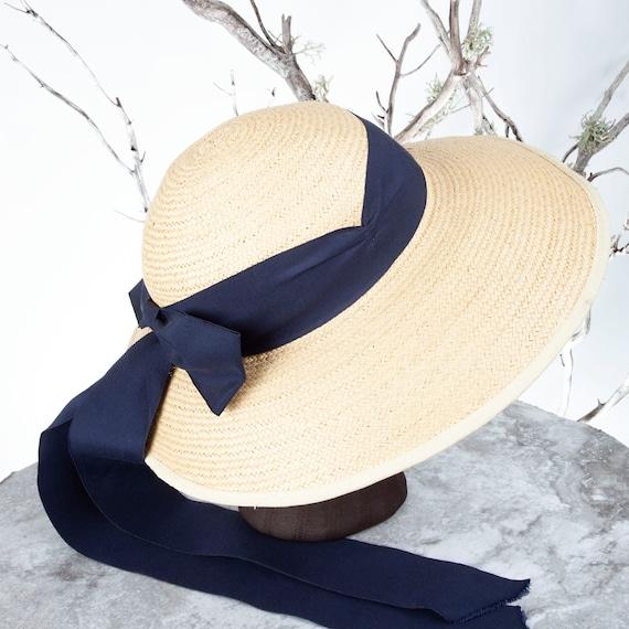 1910's Vintage Straw Hat, XS Hat, Straw Hat, Sun … - image 7