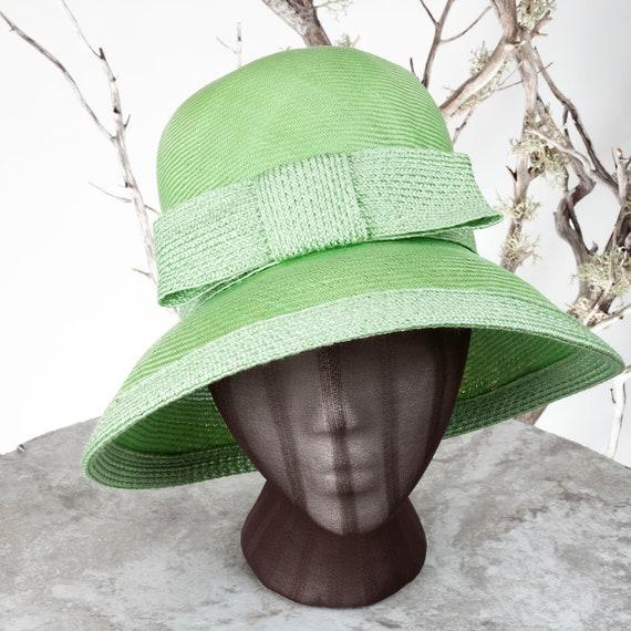 1950s Betmar Joseph Magnin Vintage Straw Hat, 1950