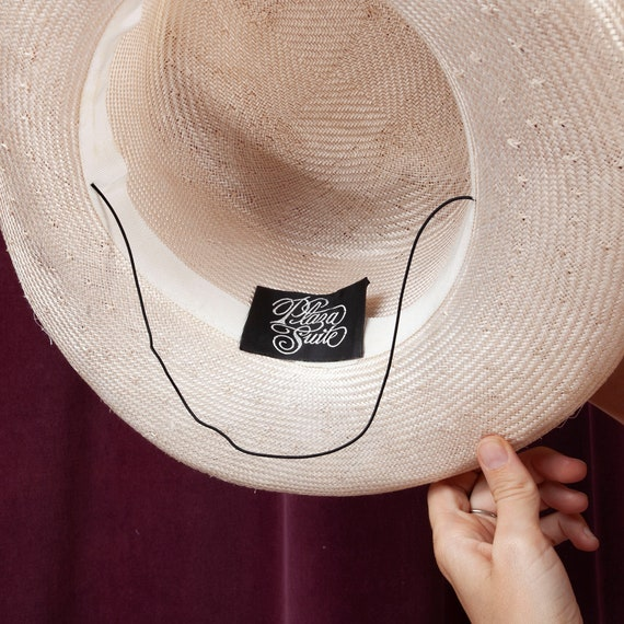 1970s, Plaza Suite Straw Hat, 1970s Hat, Straw Ha… - image 10