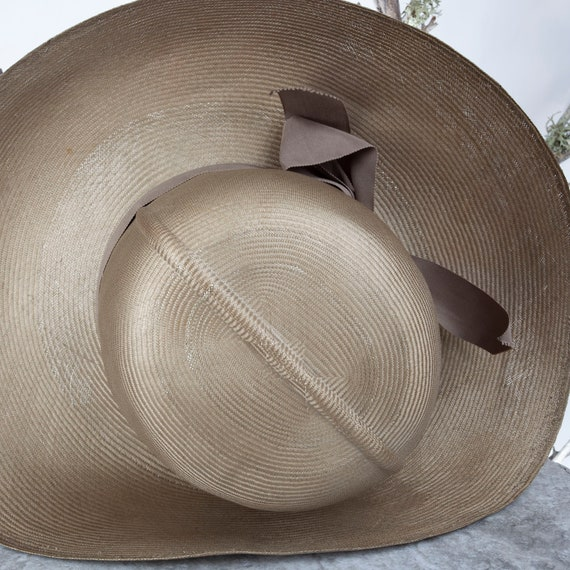 1950s MAY-D&F Vintage Straw Hat, 1950s Hat, Straw… - image 10