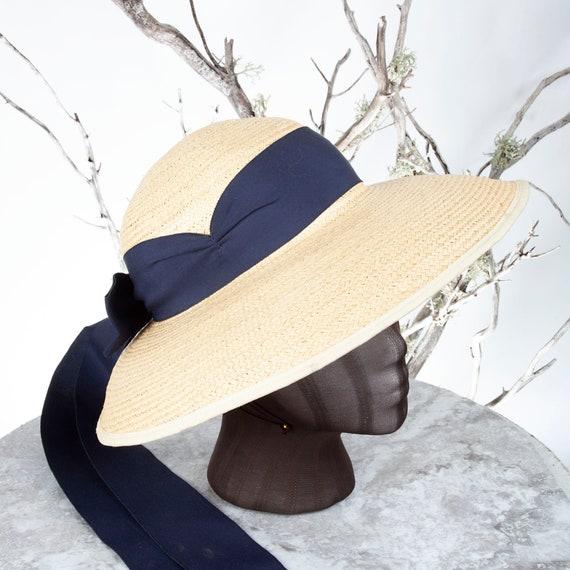 1910's Vintage Straw Hat, XS Hat, Straw Hat, Sun … - image 8